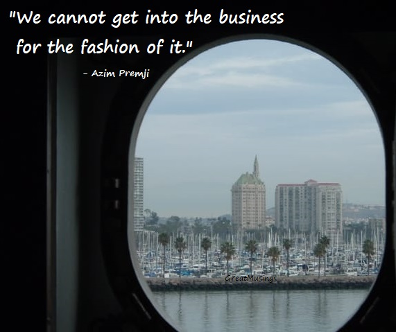 City view from a window with a quote