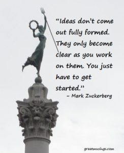 Mark Zuckerberg on Ideas