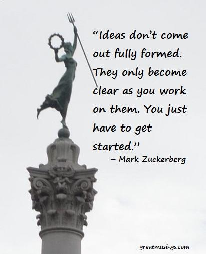 Mark Zuckerberg on Ideas
