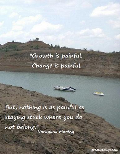 Narayana Murthy on Growth and Change