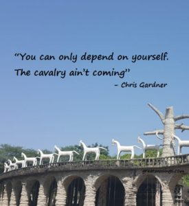 Chris Gardner on Depend On Yourself