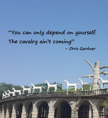 Chris Gardner on Depend On Yourself