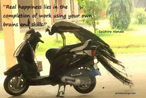 Soichiro Honda on Real Happiness