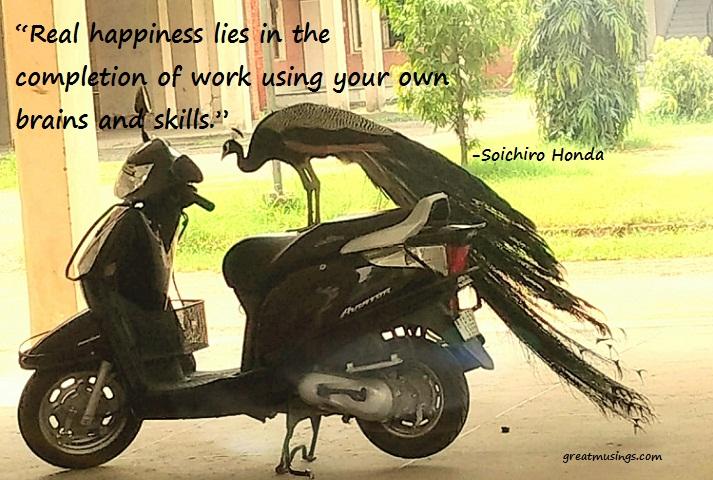 Soichiro Honda on Real Happiness