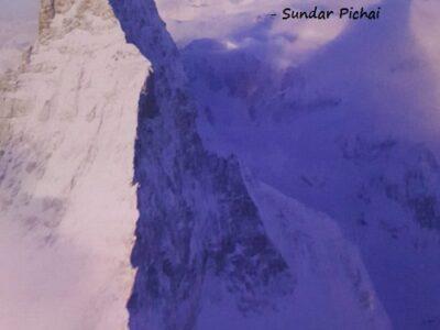 Sundar Pichai on Feeling Insecure