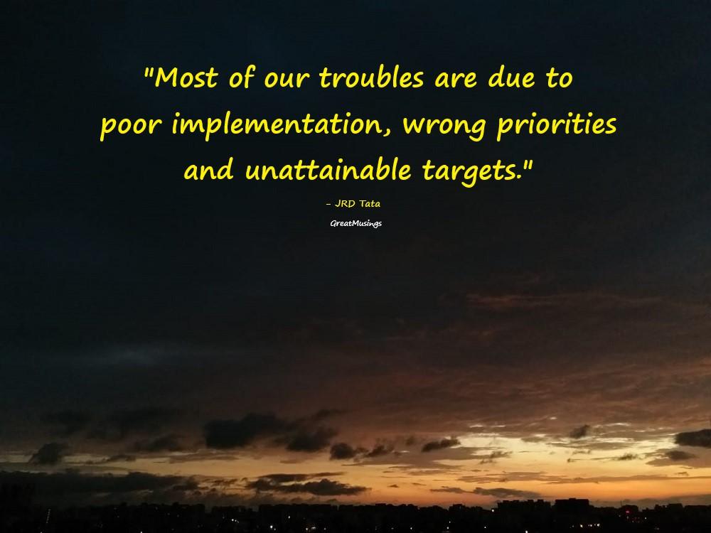 JRD Tata quote