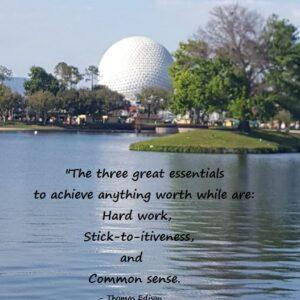 Thomas Edison on Achieve Anything