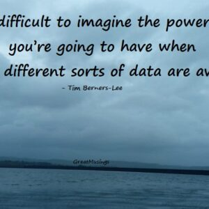 Tim Berners-Lee on the Power You Have