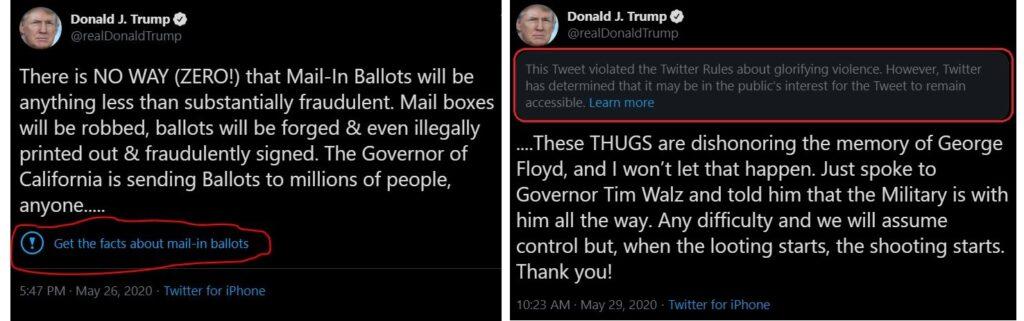donald j trump twitter screenshots