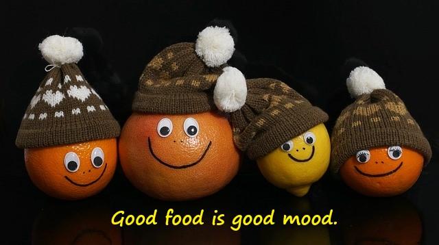 Good Food is Good mood