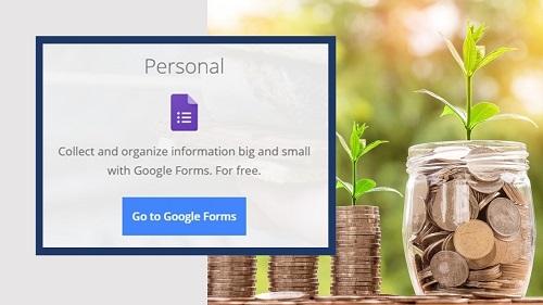 Screenshot for Go to Google Forms