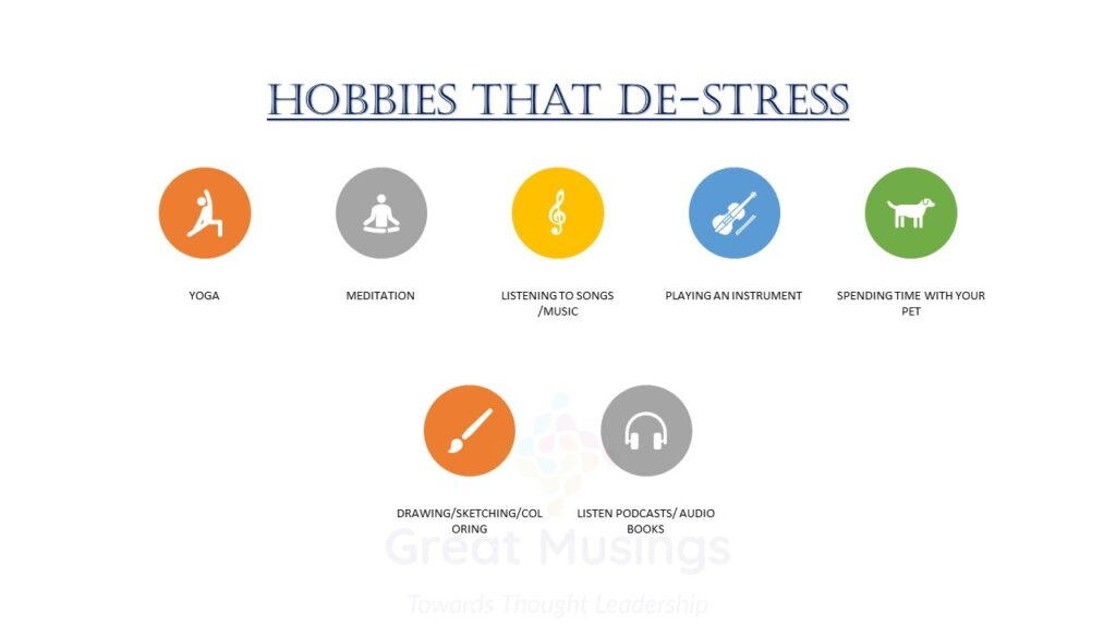 Hobbies that de-stress