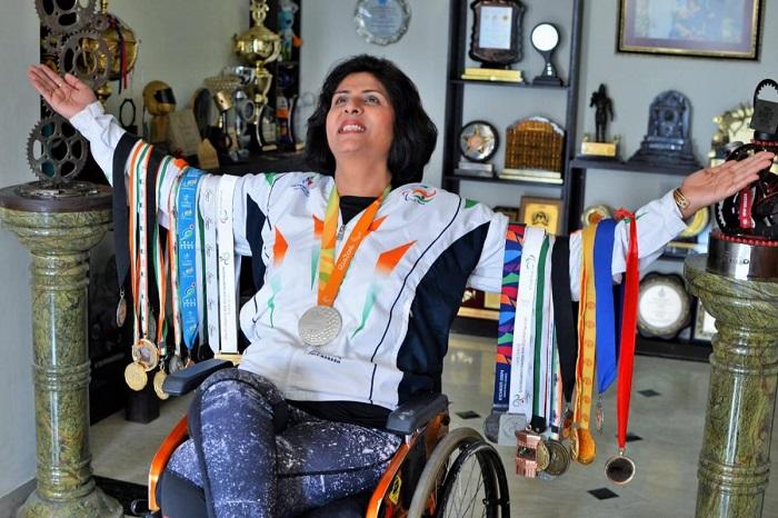Deepa Malik Para athlete. An eg for power of willpower