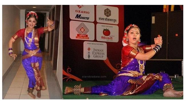 Inspiring Sudha Chandran dance pic